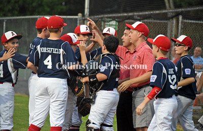 Little League baseball: Avon vs. East Granby