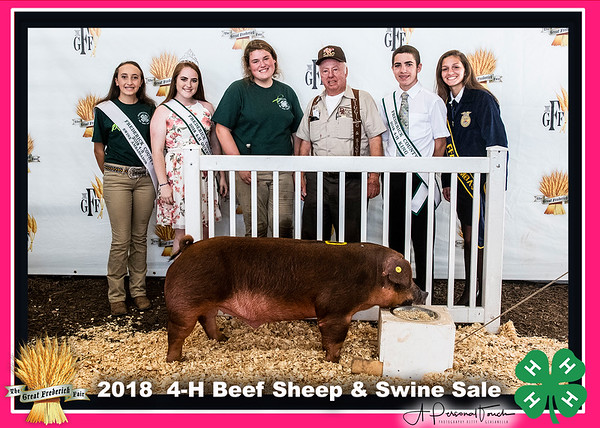 4-H Beef Sheep and Swine Sale
