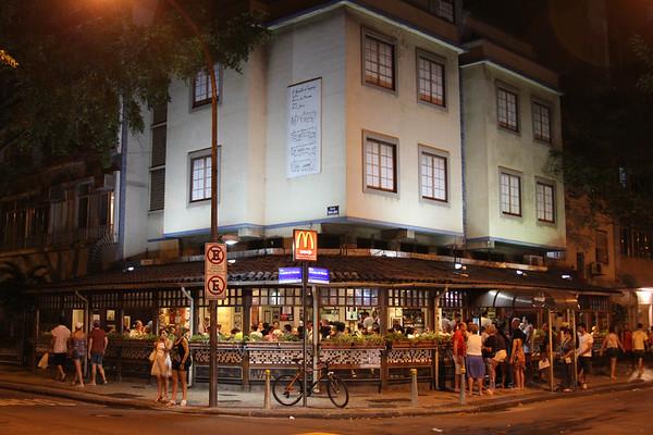 Garota de Ipanema restaurant, Rio de Janeiro - December, 2013