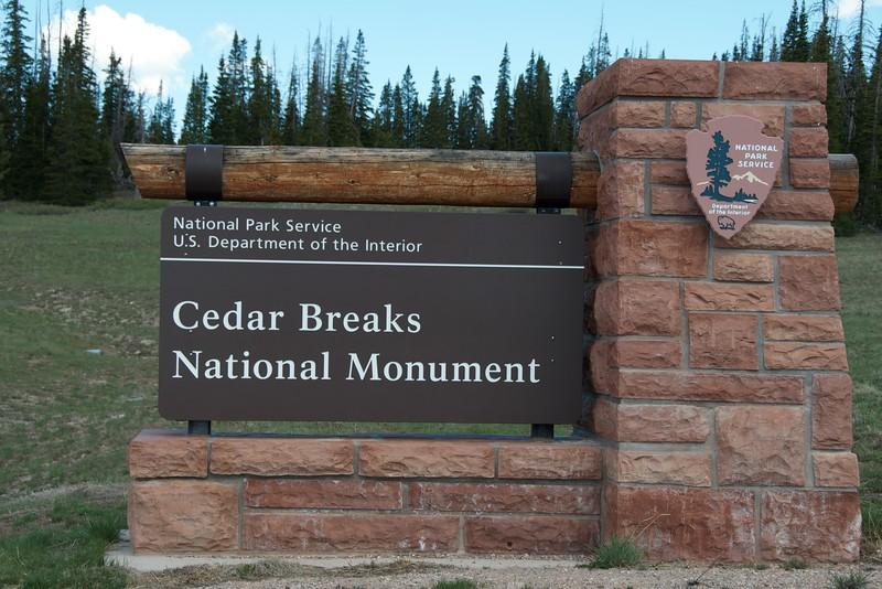 We rendezvous at Cedar Breaks