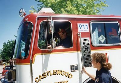Engine 31 Birthday Visit - June 1997