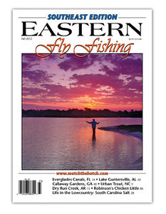 Eastern Fly Fishing magazine fall 2012 cover