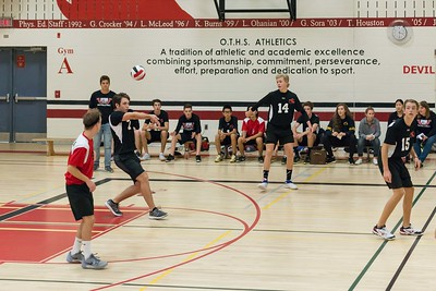 OTHS Sr. Boys Volleyball vs. Craig Kielburger SS