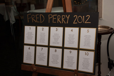 Fred Perry Christmas Party