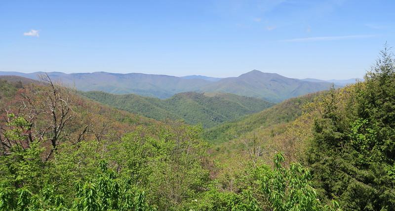 Mount Pisgah Trailhead -- 4,980'