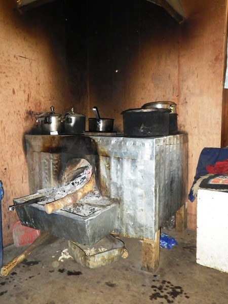 Typical Sherpa stove.