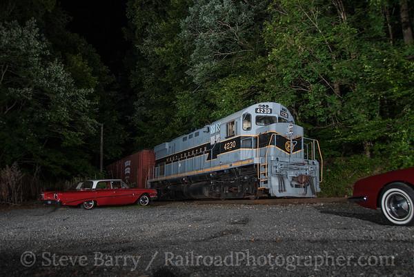 West Chester Railraod Locksley, Pennsylvania August 22, 2014