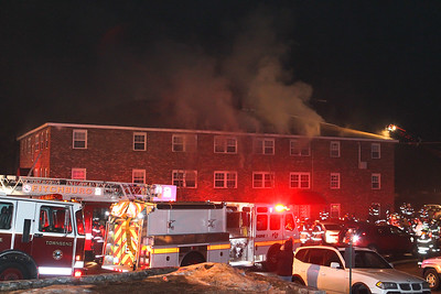 4 Alarm Building Fire - 48 Fitchburg Rd, Townsend MA - 1/4/19