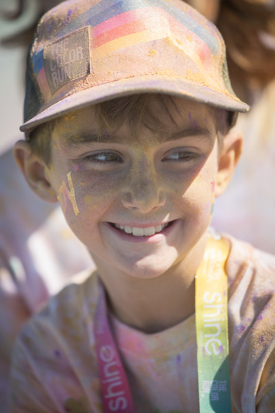 Max at Color Run 2015