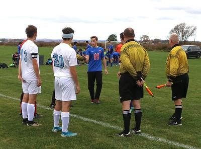 Sullivan West vs. S.S. Seward Boys Soccer Semifinals