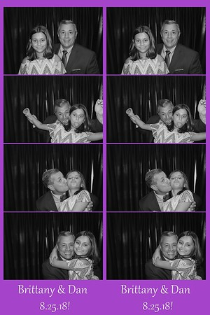 Brittany & Dan's Wedding Photobooth Pics 8.25.18!