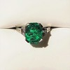 3.08ct Vintage Emerald Solitaire, by Tiffany & Co 0