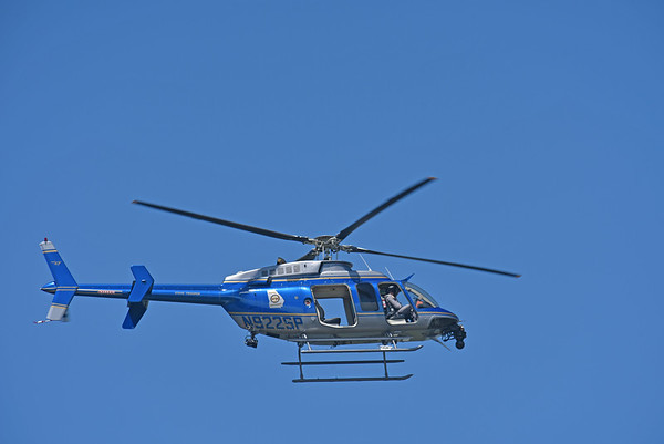 Georgia State Patrol Helicopter over Jekyll Island 05-03-18