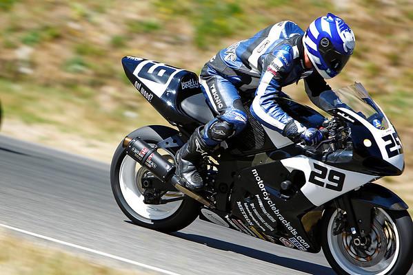 #29 - Black White GSXR