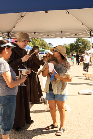 10-05-13 St. Francis Day Pet Blessings