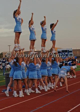 8/31/06 Livonia Stevenson Varsity Cheerleaders at the Franklin Game
