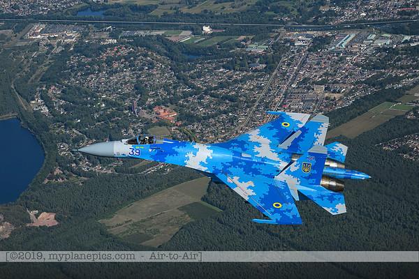 2019-Sukhoi Su-27 Flanker-Ukraine Air Force
