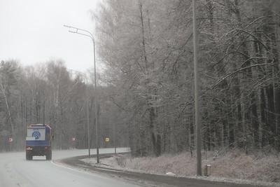 19.11.19 Первый снег на трассе (дорога на Арск) (Михаил Захаров)