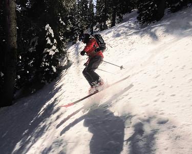David and Martin take their skills to the Teton Backcountry