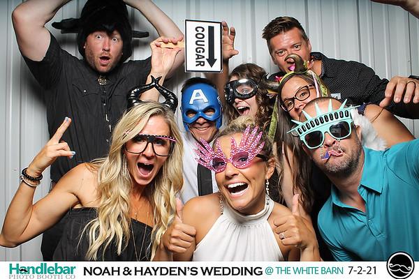 NOAH AND HAYDEN'S WEDDING