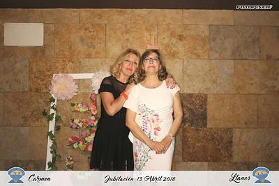Jubilación Carmen-Llanos 13.04.2018 Rte.Don Gil, Albacete