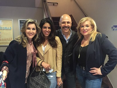 Volunteer  Appreciation Luncheon and Fundraising With Max Jobrani, 2016