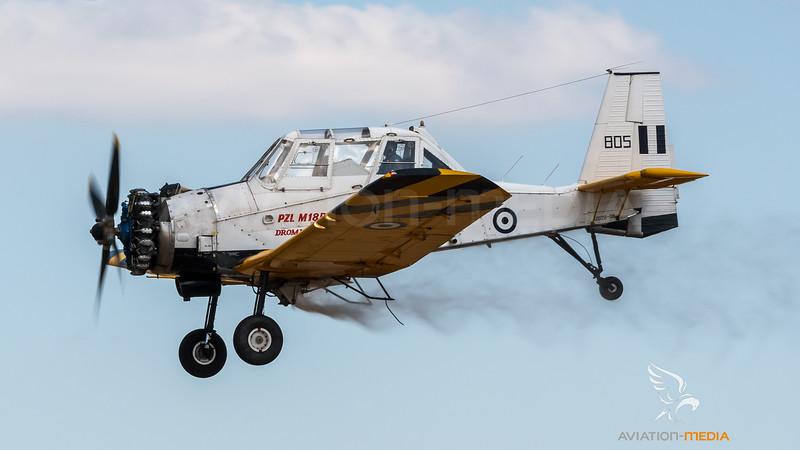 Hellenic Air Force / PZL M18BS Dromedar Trainer / 805