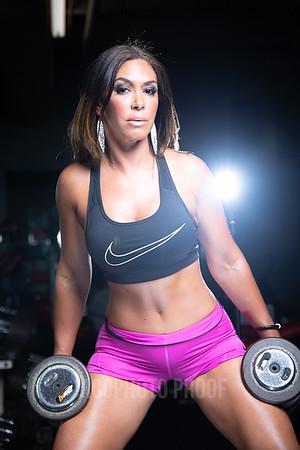 Lisette at Gym