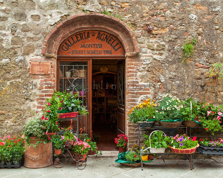 $90 - Flower Shop , Montisi , Tuscany