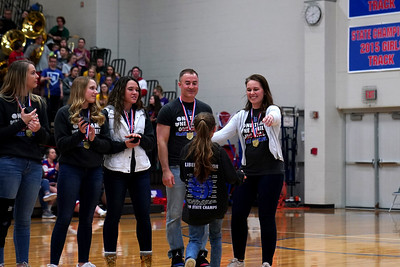 LB Volleyball State Champions Ring Ceremony (2020-02-21)
