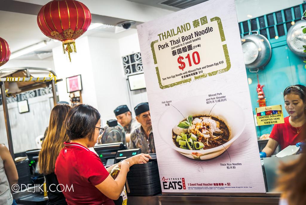 RWS Street Eats 2018 - Pork Thai Boat Noodle
