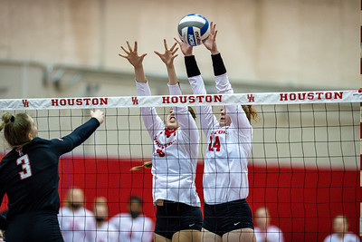 2021-Feb-25 NCAA Volleyball | Houston Cougars v Texas Tech Red Raiders
