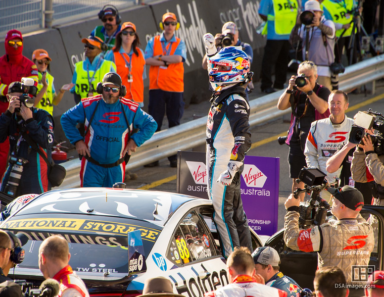 Jamie Whincup winner of race 1