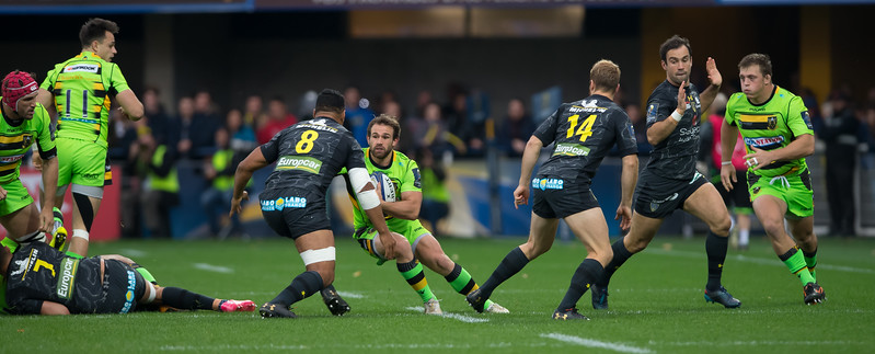 ASM Clermont Auvergne vs Northampton Saints, European Rugby Champions Cup, Stade Marcel Michelin, 21 Ocotber 2017