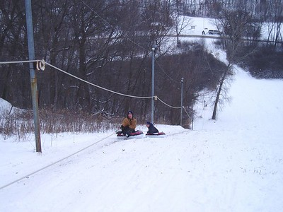 January 2005  - Fun at Mt. Tom