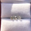 1.54ctw Antique Cushion Cut 3-stone Suite 1