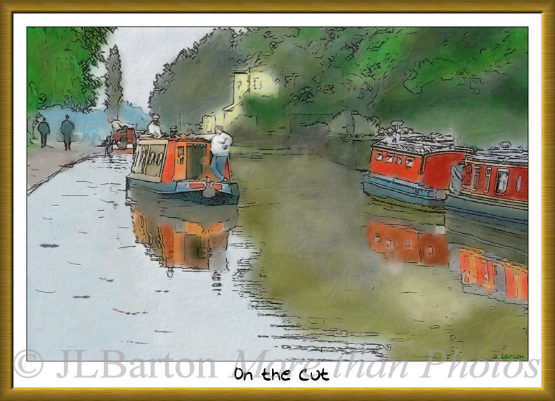 On the Cut British Inland Waterways - canals by narrowboat