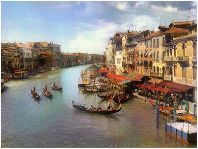 Venezia - Canaletto style