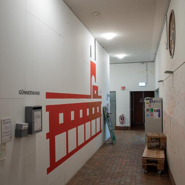 Eingangsbereich Gotthelfstrasse