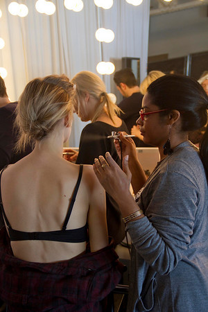 Behind-the-scenes The Lake and Stars, New York Fashion Week 2011