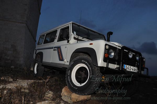 My Land Rover @ Qalet Marku