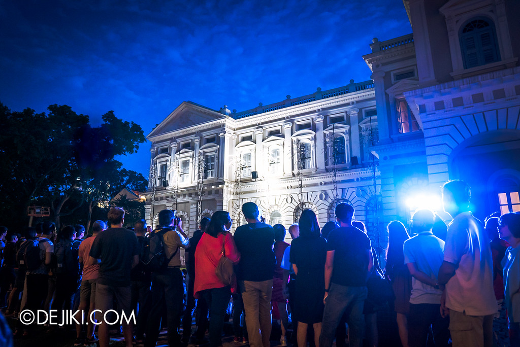 Night Festival 2016 - KEYFRAMES by Groupe LAPS at National Museum of Singapore