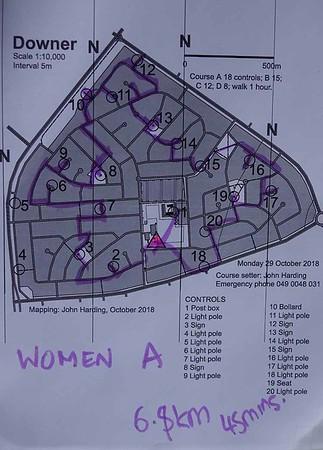 29 October 2018 Downer street O