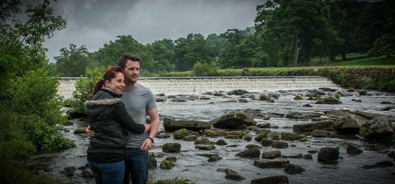 Stacey and Dan Pre Wedding Shoot Chatsworth Park