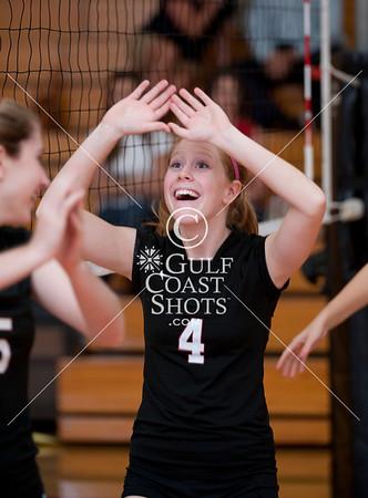 2009-09-01 Volleyball Girl Varsity Second Baptist @ SJS