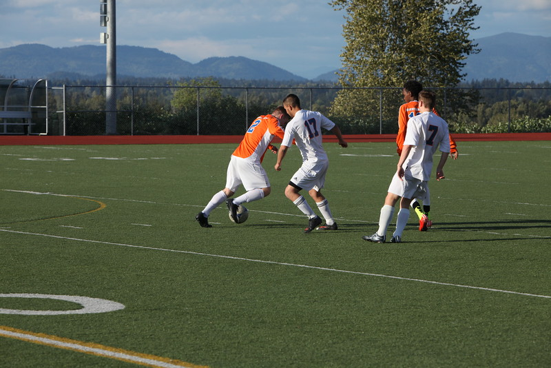 2015 AMHS Boys Soccer vs Bonney Lake - May 4