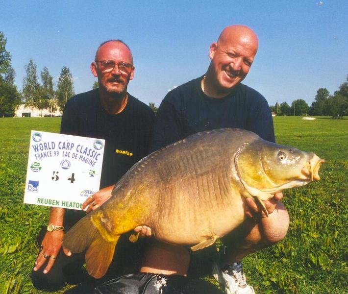 WCC99-Pic 9 - peg 54 - biggest carp