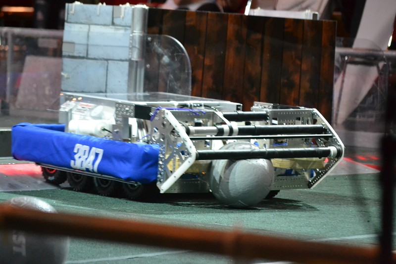 2016 First Bayou Regional Robotics Competition - Bouvier - 628