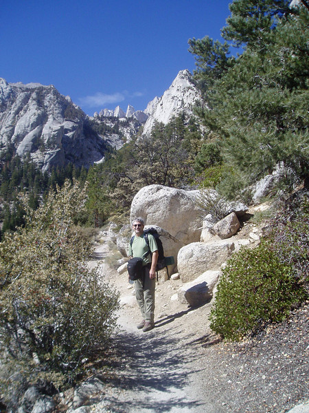 On the Mt.Whitney Main Trail
