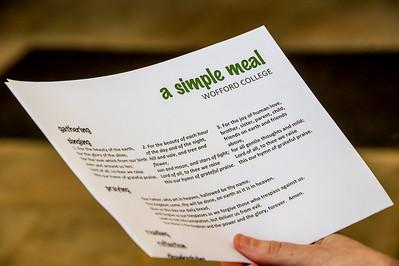 Chaplain A Simple Meal